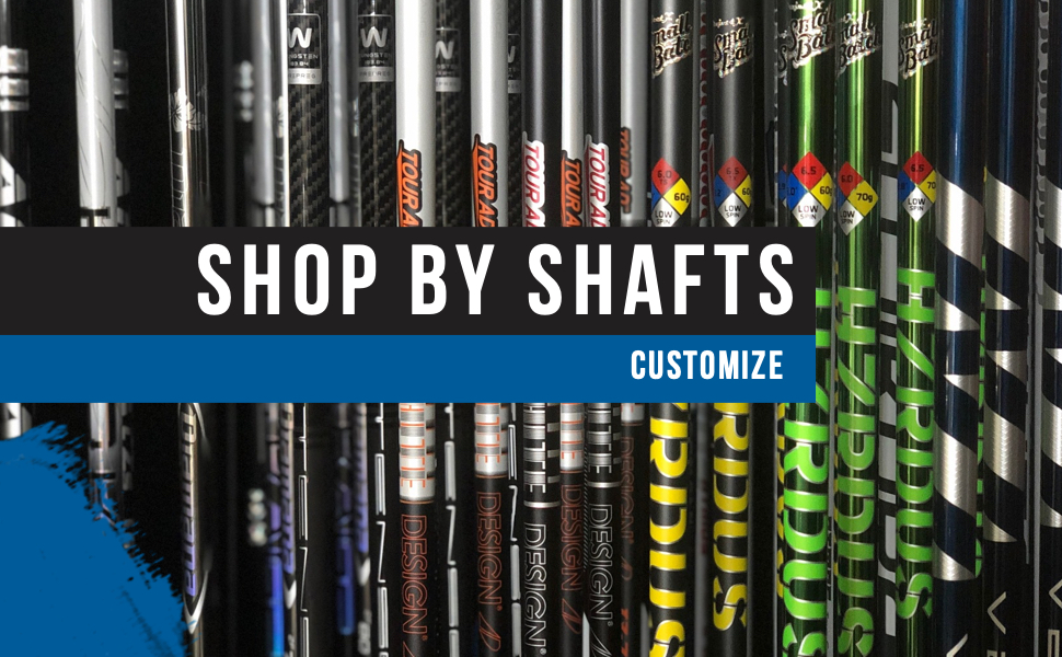 Banner Image of the Shop By Shafts Category