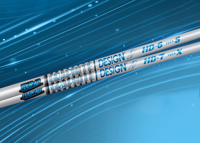 "featured image of the blog titled ""A 2020 Banger: JD's Clubs Now Offers the Newest Graphite Design Tour AD HD Shafts"""