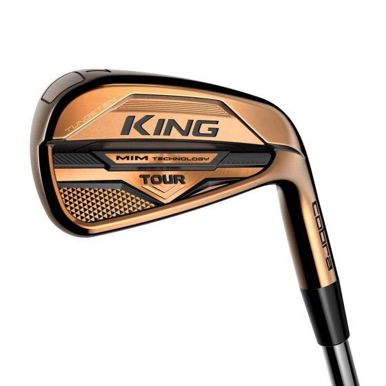 """featured image of the blog titled """"Secure Consistent Results with Cobra King Tour Copper Irons Available at JD's Clubs"""""""